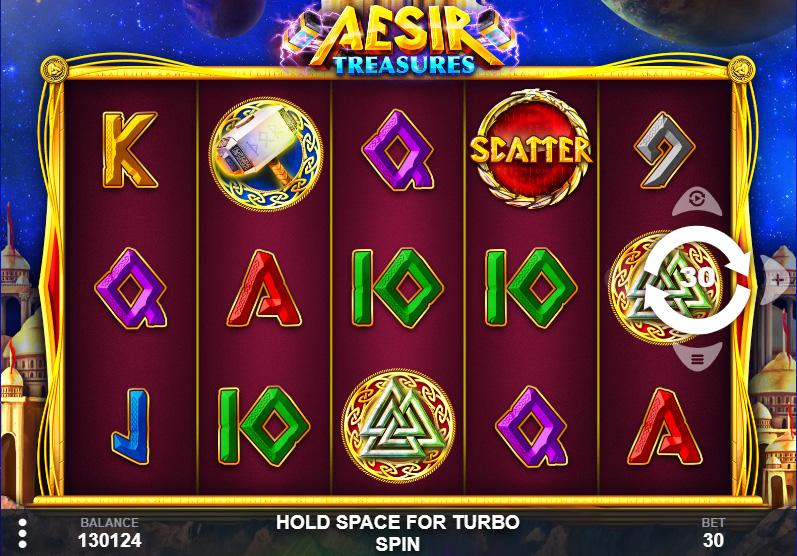 รีวิวเกม Aesir Treasures