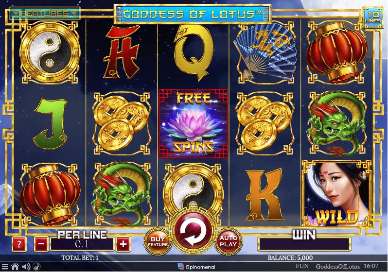 รีวิวเกมสล็อต Goddess Of Lotus Slot